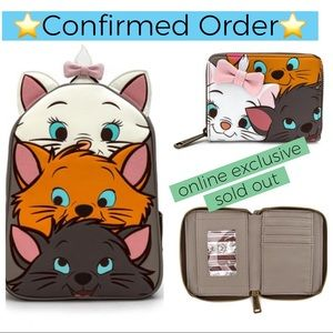 Loungefly Aristocats Backpack & Wallet ~ CONFIRMED